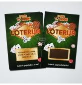 Kvietimas liudininkams - Loterijos bilietas (Ž)