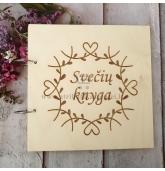 Palinkėjimų knyga vestuvėms (SVKN-16)