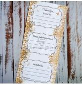 Žaidimų kortelė 3in1 (Auksiniai lapeliai)
