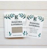 Loterijos bilietai - Nutrink ir pasižadėk (L-085)