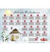 """Advento kalendorius """"Žiema"""""""