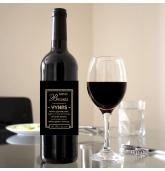 Etiketė vyno buteliui - Geras Bosas