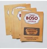 Dovana Bosui - loterijos bilietai