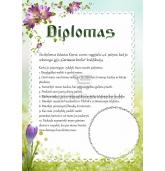 Diplomas / Įsakymai broliui ar sesei (D-05)