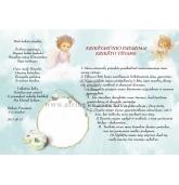 Padėka ir įsakymai krikšto tėvams (D-10)