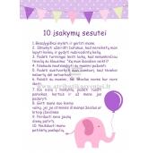 """10 įsakymų sesutei """"Rožinis drambliukas"""""""