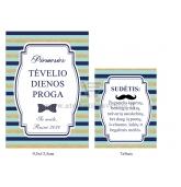 Personalizuota vyno etiketė Tėčio dienos proga