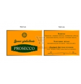 Personalizuota Prosecco butelio etiketė