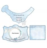 Personalizuota krikštynų šampano etiketė (EK-105)