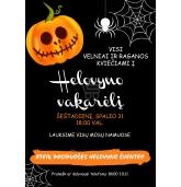 Kvietimai į Helovyno vakarėlį