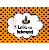 """Etiketė """"Linksmo Helovyno!"""""""