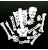 """Helovyno žaidimas """"Surink skeletą"""""""