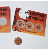 Helovyno loterijos bilietai
