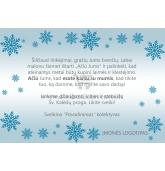 Kalėdinis sveikinimas - atvirukas (KAL-13)