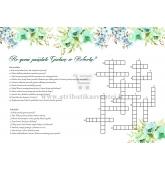 Vestuvių kryžiažodis
