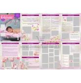 Krikštynų laikraštukas / žurnalas (Pavyzdys nr 2)