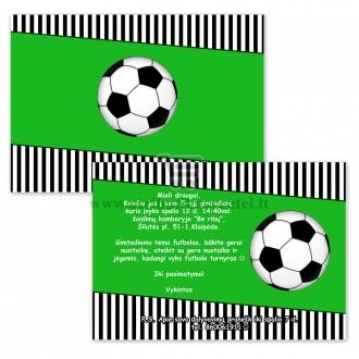 Gimtadienio kvietimai futbolo tema