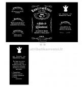 Etiketė - kvietimas, Krikštynų viskis (E-212)