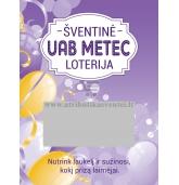 Personalizuoti loterijos bilietai (L-197)