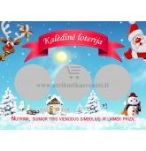 Kalėdiniai loterijos bilietai