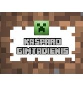 Personalizuota Minecraft etiketė
