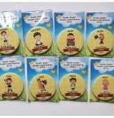 Personalizuotas ženkliukas arba magnetukas su kortele