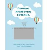 """Personalizuoti loterijos bilietai """"Oro balionai"""""""