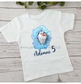 """Gimtadienio marškinėliai """"Olafas"""""""