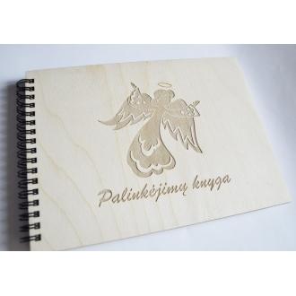 """Palinkėjimų knyga """"Angeliukas"""""""