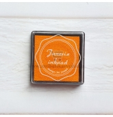 Anspaudų dažų pagalvėlė - Apelsinas