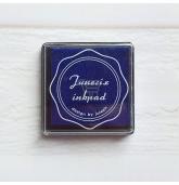 Anspaudų dažų pagalvėlė - Karališka mėlyna