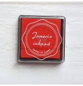 Anspaudų dažų pagalvėlė - Raudona