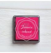 Anspaudų dažų pagalvėlė - Rožė