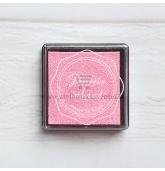 Anspaudų dažų pagalvėlė - Šviesiai rožinė