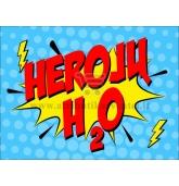 """Etiketė """"Herojų H2O"""""""