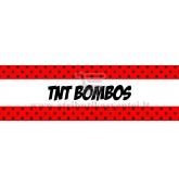 "Etiketė-dekoracija ""TNT Bombos"""