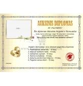 Auksinių vestuvių diplomas (VMAUK-02)