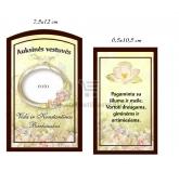 Auksinių vestuvių vyno etiketė (VMAUK-10)