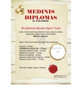 Medinių vestuvių diplomas (VMMED-01)