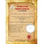Perlinių vestuvių diplomas (VMPERL-02)