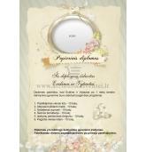 Popierinių vestuvių diplomas (VMPOP-03)