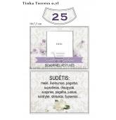 Sidabrinių vestuvių metinių etiketė (VMSID-08)