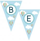 Vardinė girlianda, Oro balionėliai