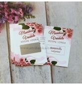 "Personalizuota vestuvių loterija ""Pink roses"""