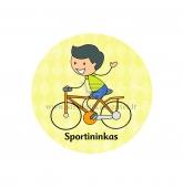 """Ženkliukas-nominacija """"Sportininkas"""""""