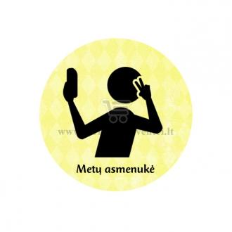 """Ženkliukas-nominacija """"Metų asmenukė"""""""