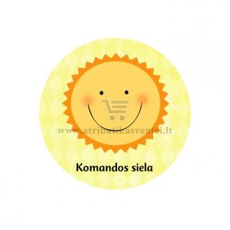 """Ženkliukas-nominacija """"Komandos siela"""""""