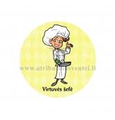 """Ženkliukas su nominacija """"Virtuvės šefė"""""""