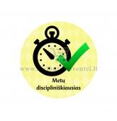 """Ženkliukas su nominacija """"Metų discipliniškiausias"""""""
