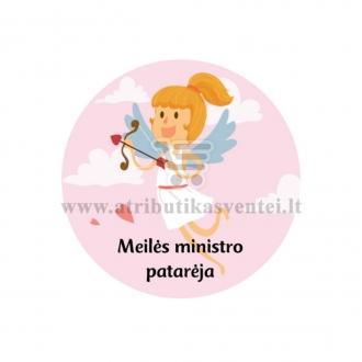 """Nominacija """"Meilės ministro patarėja"""""""